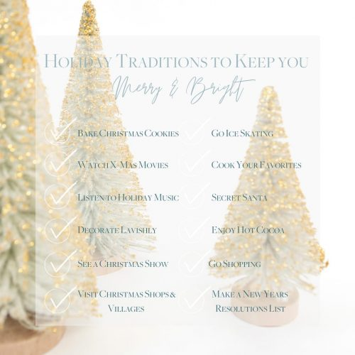 Ways to Alleviate Stress During the Holidays
