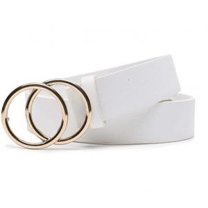 Double Ring White Belt