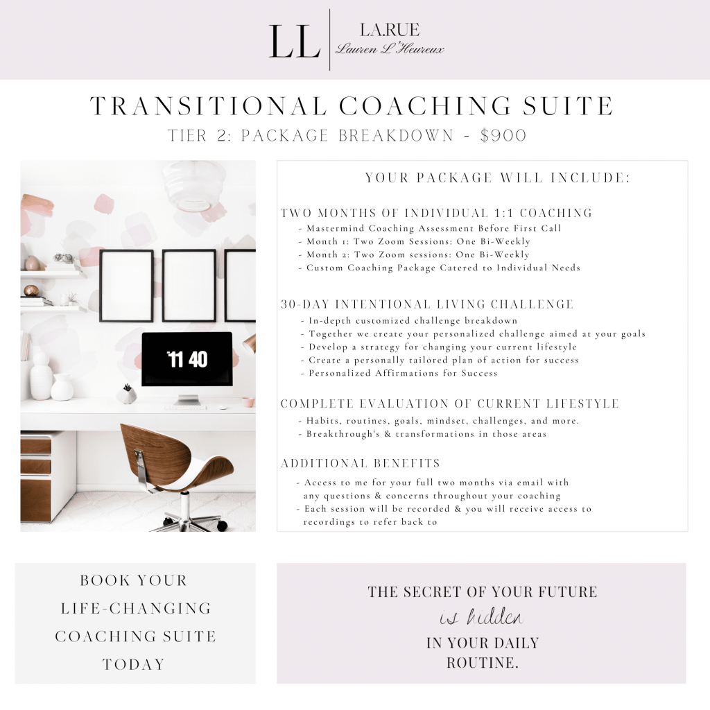 Transitional Lifestyle Coaching