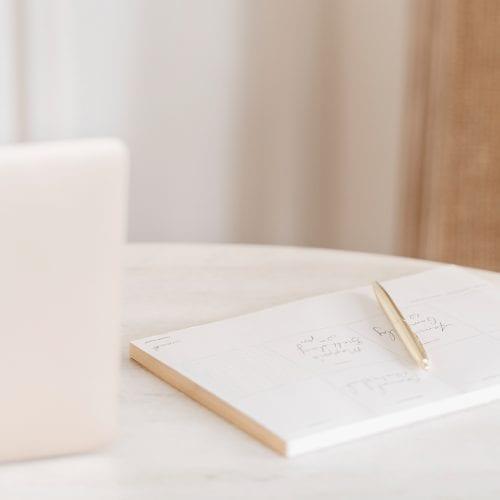 The Monthly Goal Calendar Freebie: Set Intentional Goals!