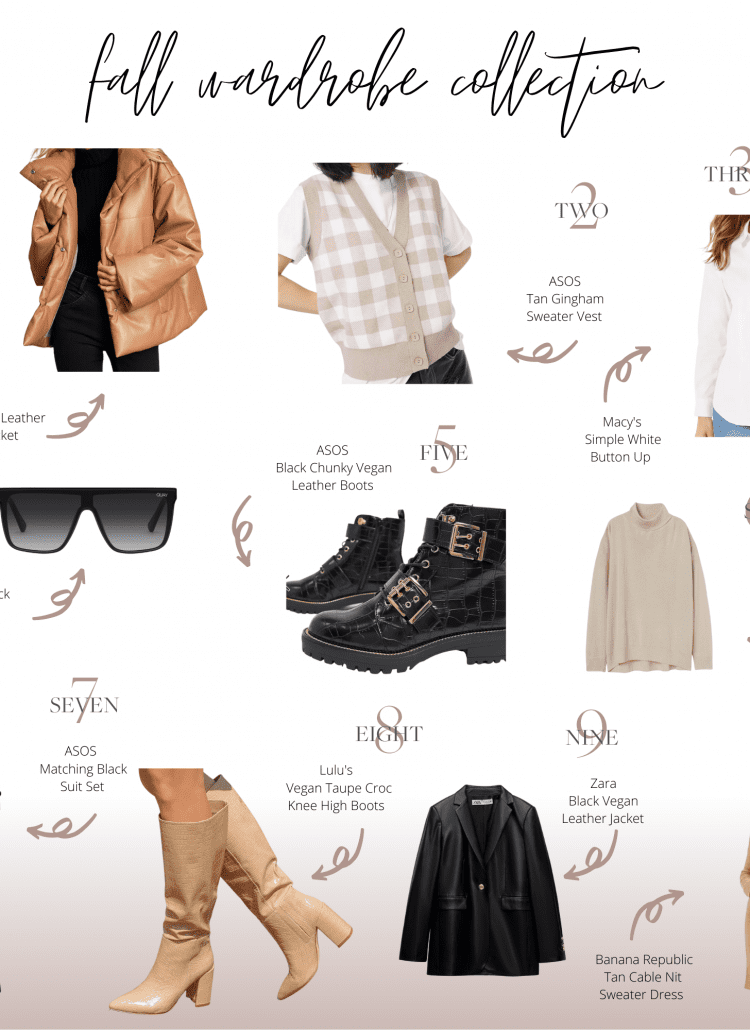 Fall Wardrobe 2021 Capsule Collection